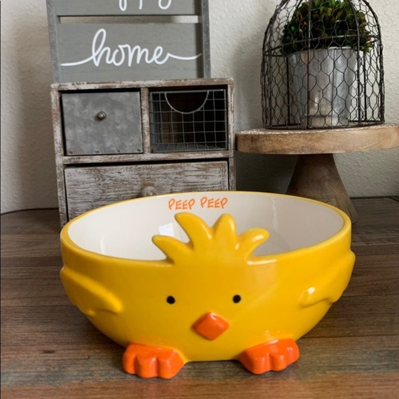 New Large Easter Yellow Chick PEEP Decor